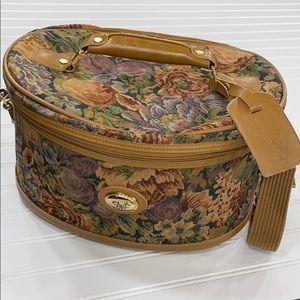 Vintage Floral Diane von Furstenburg Train Case